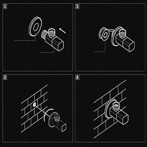 black shower valve Faucet valve