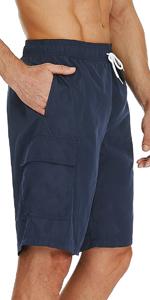 Athletic Swimwear with Cargo Pocket