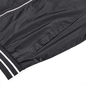 EKLENTSON Bomber Jacket Men Active Flying Light Fashion Jacket for Big and Tall