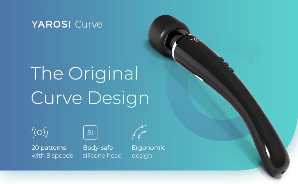original curve design 20 pattersn with 8 speeds ergonomic handle long reach
