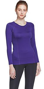 Cool Dry Long Sleeve Compression Shirts
