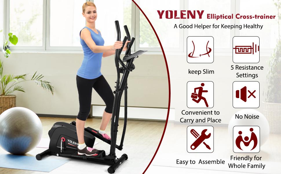 YOLENY Elliptical Trainer