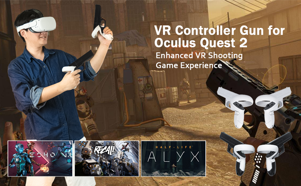 Compatible for Oculus Quest 2 Touch Controllers