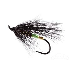Black Bear Green Butt Steelhead Fly Fishing Fly by RiverBum