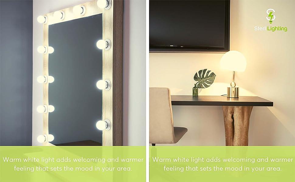 Mirror Vanity and decorative scenty lamp