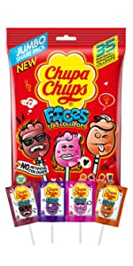 Chupa Chupa Faces