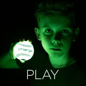 CHARGEBALL Glow in The Dark baseball