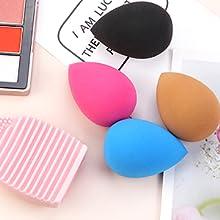 powder foundation brush set bestope makeup brushes make up brush holders with lid kabuki brush set