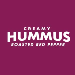 Creamy Roasted Red Pepper Hummus