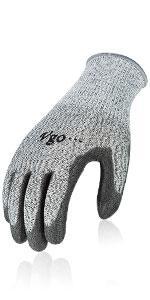 Vgo Cut Resistance String Knit Work Gloves
