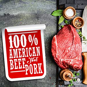 BEEF AND PORK