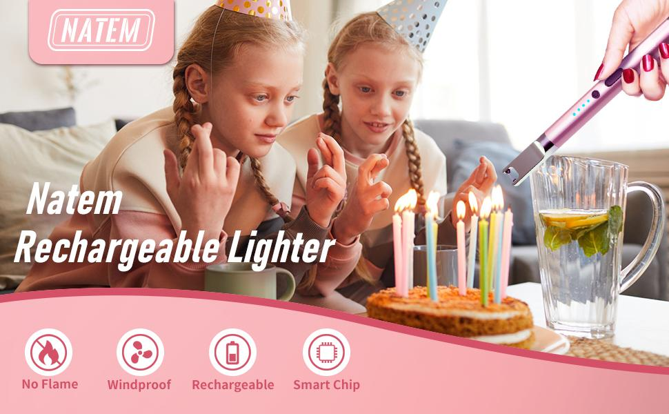Birthday candle lighter