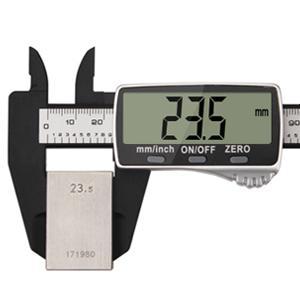 Stor LCD-skärm och noggrann mätning