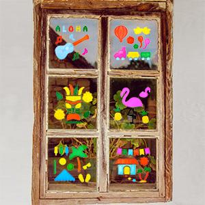 window sticker for kids