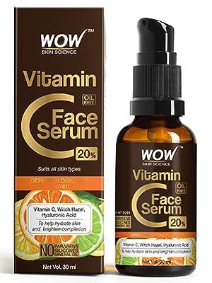 vitamin c face serum bottel