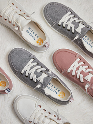 ALEADER Canvas Shoes For Women