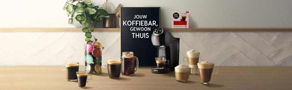 jouw koffiebar, NDG, Dolce Gusto