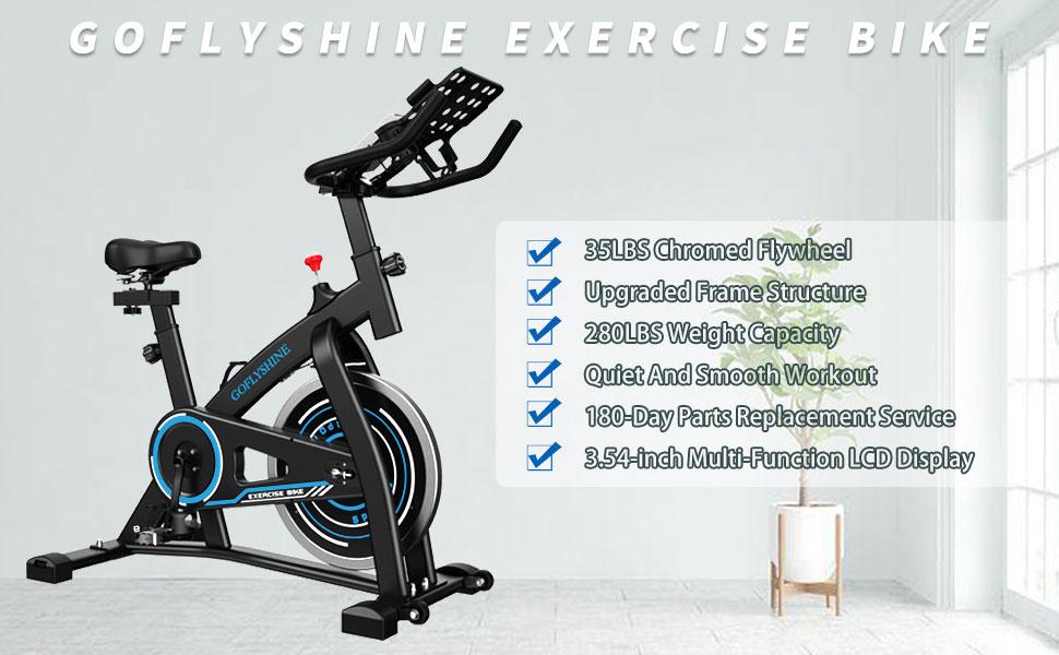 GOFLYSHINE EXERCISE BIKE