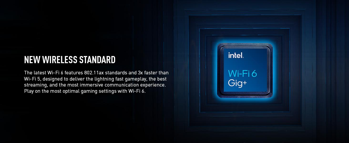 Wifi 6 802.11ax gaming streaming fast