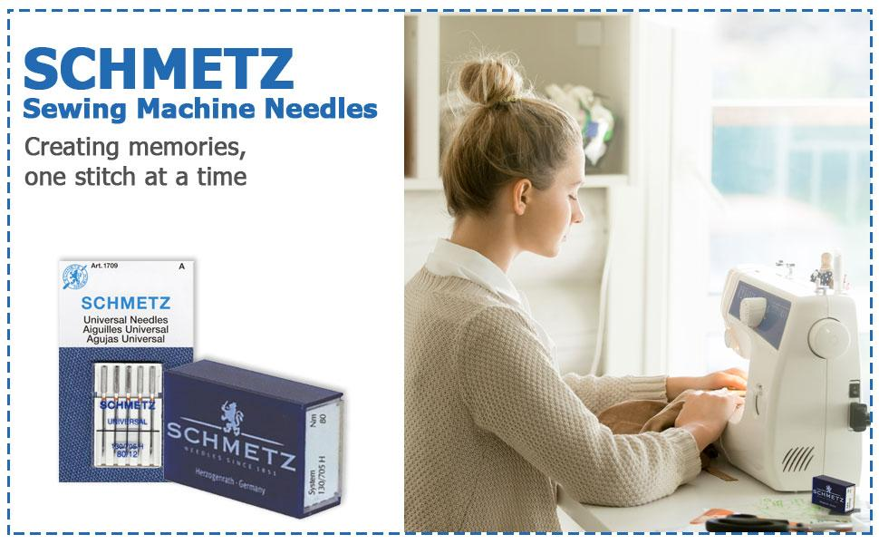 SCHMETZ Sewing Machine Needles creating memories one stitch at a time