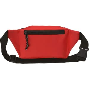Lifeguard Fanny Pack With Whistle Lanyard - Baywatch Style - Back