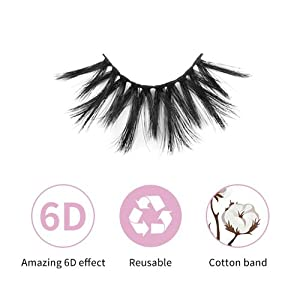 faux mink lashes features