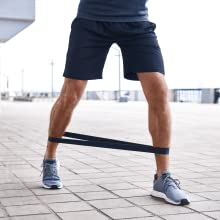 workout ladder training with bands