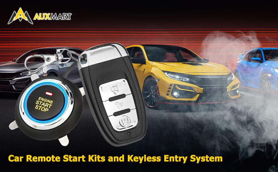Remote Starters for Cars 12V