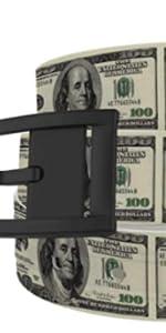C4 100 Dollar Bill Belt