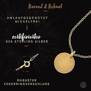 Halskette CIRCLE Gold