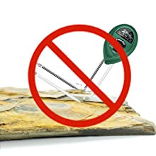 Do Not Collide The Soil Moisture Meter With Solid Stones