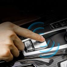 E-brake Switch Chrome Stickers for 5 7 X5 Series