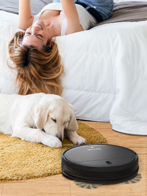2-In-1 Mopping Robot Vacuum
