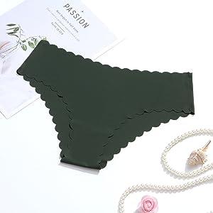 Wetopkim Women's Seamless Underwear Invisible Panties Stretch Bikini briefs Stretch hipster