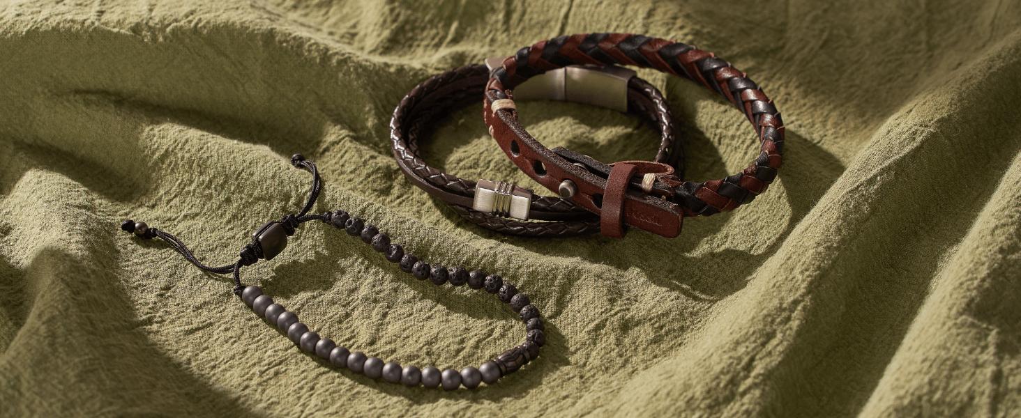 Fossil Men's Bracelets