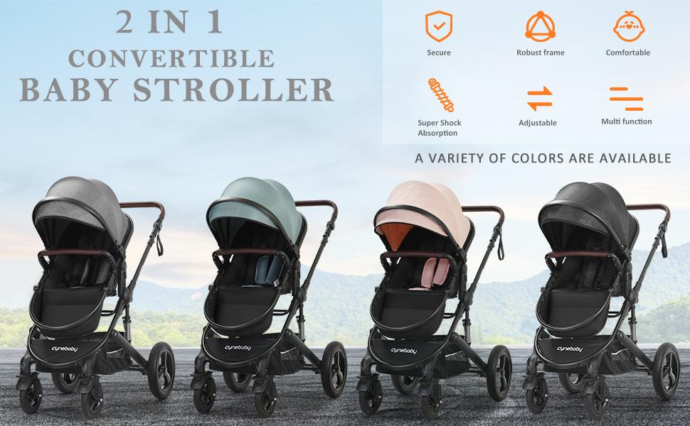 Newborn Infant Toddler Baby Stroller