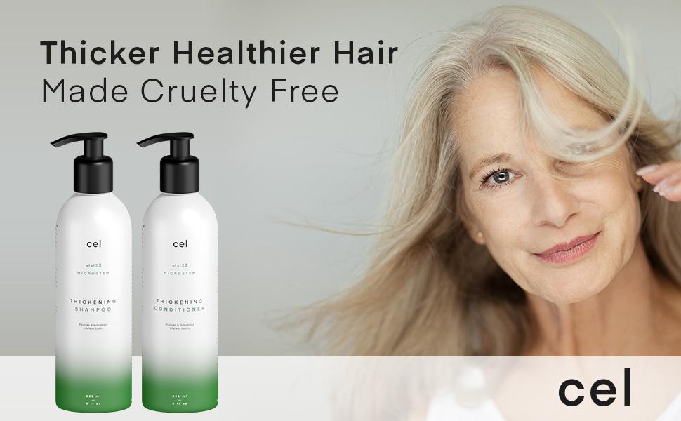Thicker healthier hair