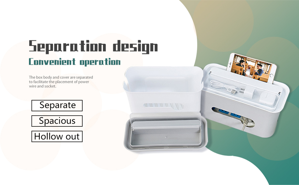 Perfect customer experience plug box