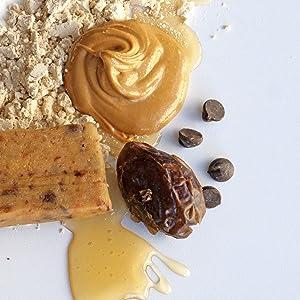 dates and honey naturally sweetened no artificial sugars no sugar alcohol