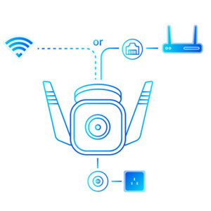 Tapo C310 Outdoor Security Wi-Fi Camera 3MP Wireless CCTV Bullet Home security baby Camera