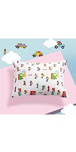 Cartoon cotton pillowcase