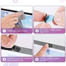camera blocker camera cover for laptop webcam cover macbook pro web cam cover