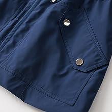 Front flap pocket