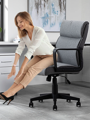home office desk chair mid back