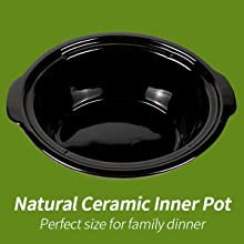ceramic inner pot