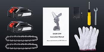 mini electric chainsaw chainsaw chain cordless saw electric hand saw mini chainsaw battery powered