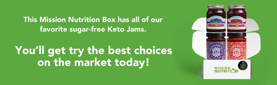 Keto Jam Box Opened Banner