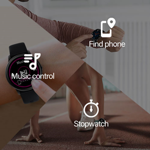 Music Controller, Find phone, stopwatch
