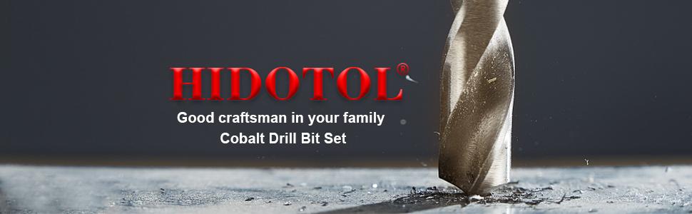 Cobalt Drill Bit Set