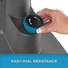 Closeup of FitForm dial